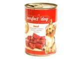 Perfect Dog Beef (hovězí), bal. 6x 400g 090306