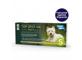Antiparazikum pro psy TOP SPOT ON dog S do 15 kg - VLP 00078